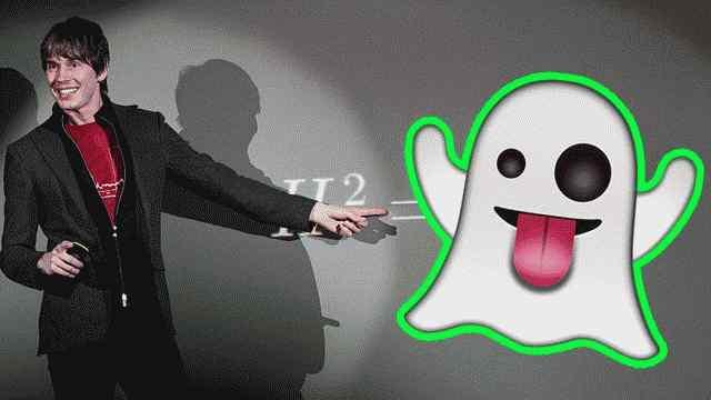 alguna vegada heu tingut una experiència fantasmagòrica? per això, Brian Cox diu que els fantasmes no poden existir.